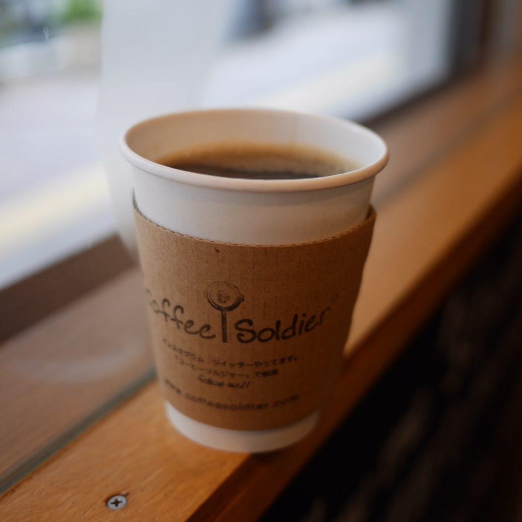 お店でいただくコーヒーです