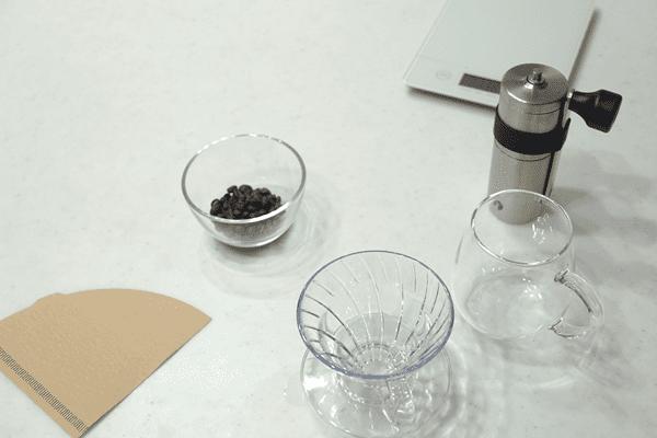 ソルジャーブレンドをハンドドリップコーヒーで