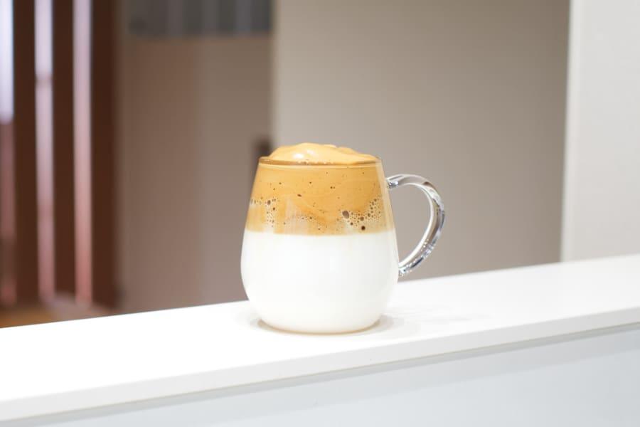 美味しそうなタルゴナコーヒー画像