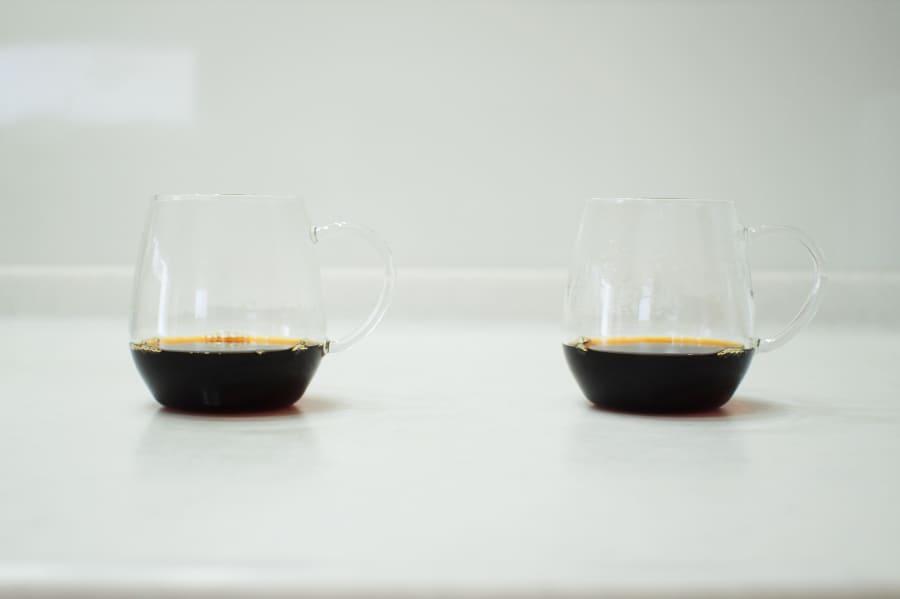 2杯の珈琲