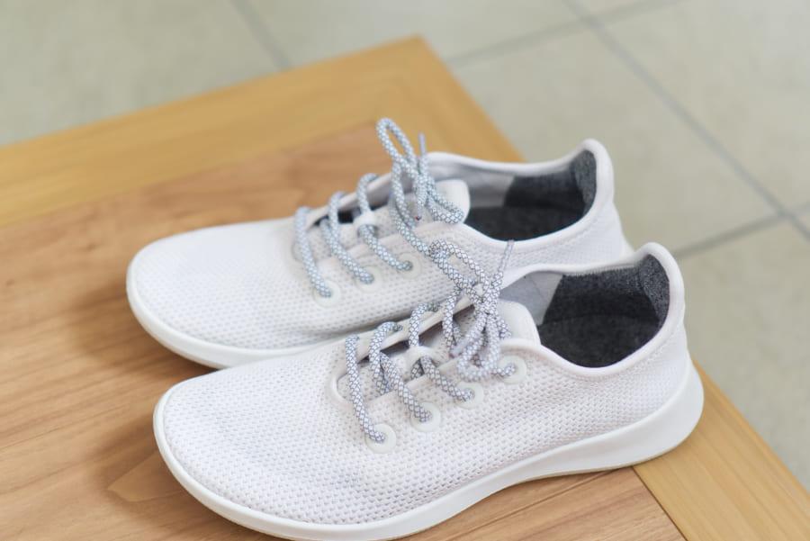 ツリーランナーの靴紐の交換 紐の長さは110cm