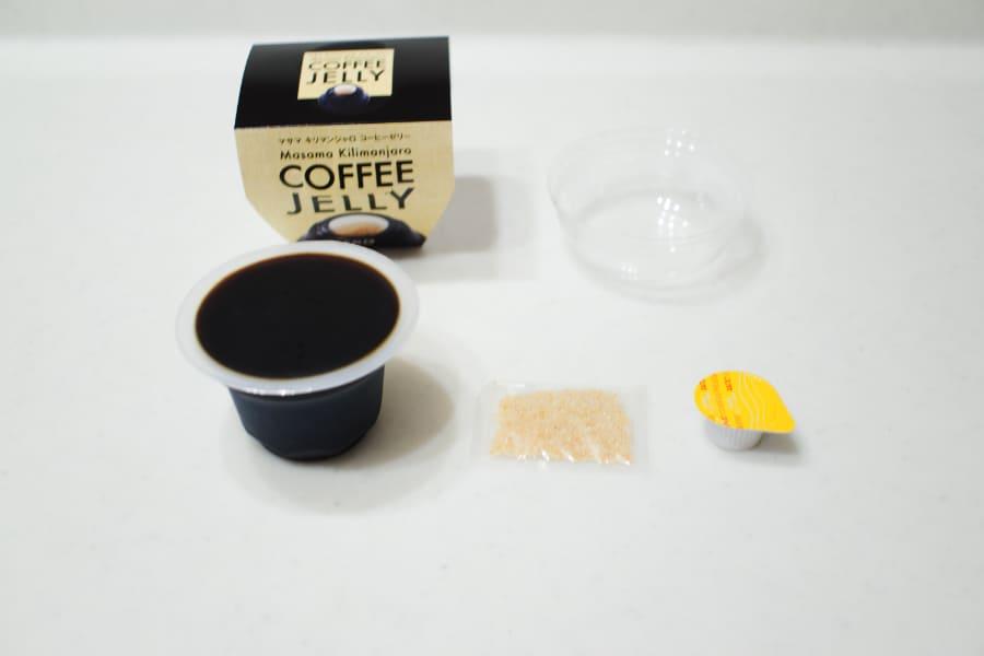 カルディコーヒーゼリーの内容物