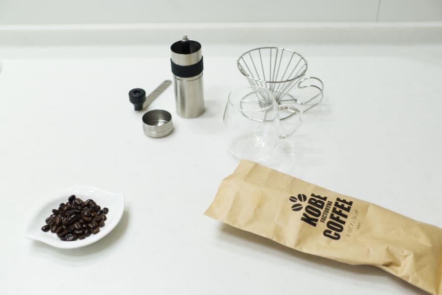KOBECOFFEEとコーヒー器具