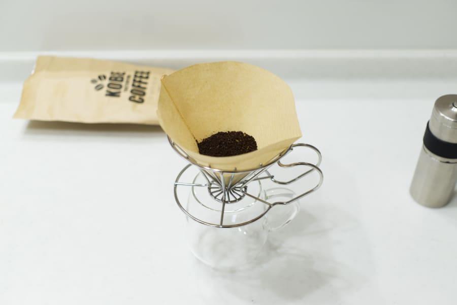 KOBECOFFEEと珈琲考具ドリッパー