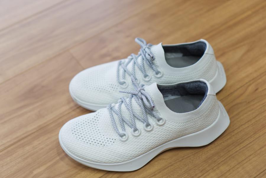 ツリーダッシャーの靴紐の交換、長さは105cm程度