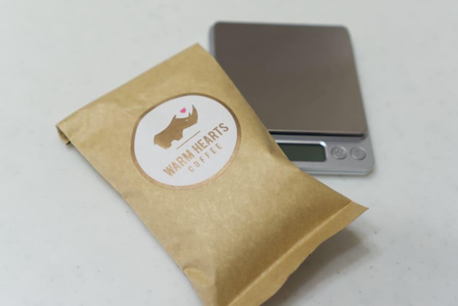 マラウイコーヒーのパッケージ