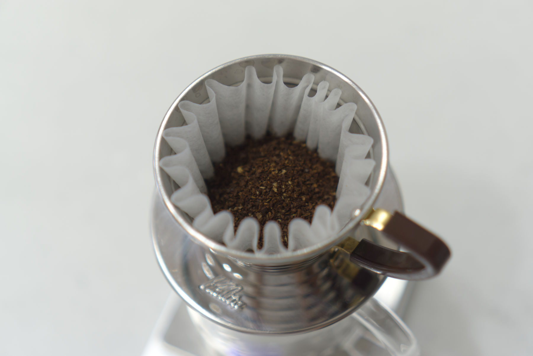 HORI COFFEEの蒸らし