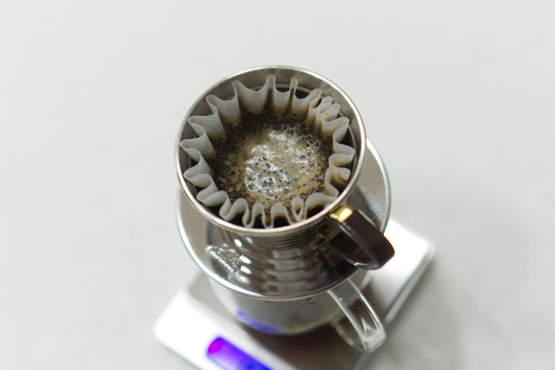HORI COFFEEのドリップ