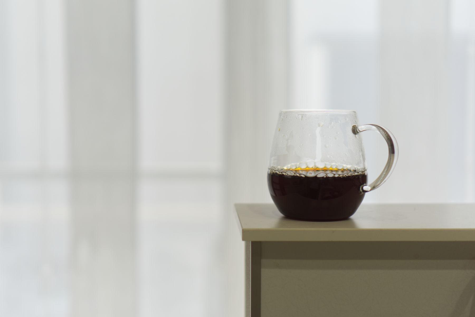 コーヒーの味わい、感想